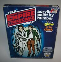 """Star Wars The Empire Strikes Back Acrylic Paint By Number 8"""" x 10"""" NIB"""