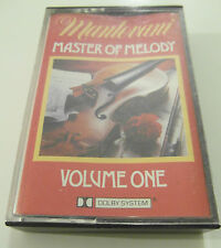 Mantovani - Master Of Melody / Volume One - Album Cassette Tape, Used very good