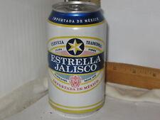 Estrella Jalisco Cerveza Tradicional Guadalajara Mexico 12 oz sta-tab beer can