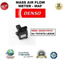 DENSO MAF MASS AIR FLOW METER SENSOR OEM: 2220415010 for TOYOTA LEXUS OE QUALITY