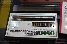 1/35 Tamiya M40 barril metálico & Conchas Set para los Estados Unidos 155 mm SPG M40 Kit ~ 12670