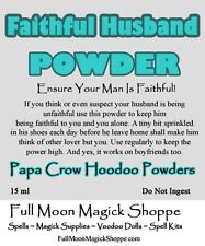 Faithful Husband Hoodoo Voodoo Ritual Dust Keep Him From Straying