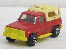 US Pick-Up in rot mit Hardtop, Norev minijet, o.OVP, L: 7,5 cm