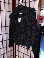 XS NWT Pullover Sweater - Hooded Black