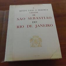 BRASIL SAO DE SEBASTIAO DO RIO DE JANEIRO de Gilberto Ferrez  rare !!