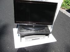 "BLACK LAZY SUSAN TV RISER - 26"" wide x 14"" deep x 7"" high BY SYRACUSE TV RISERS"