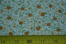 """By 1/2 Yd, 36"""" Wide, Vintage 1940's-60's, Calico on Cream Belgium Cotton, M7273"""