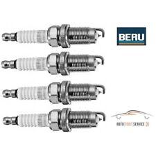 4x Original Beru Zündkerzen Komplett-Set 4-Zylinder Ultra Platin Seat VW 1.4 2.0