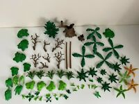 Playmobil Greenery/Plants/Trees Bundle - GC (Some With Damage)