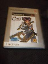 ONI PS2 Playstation 2 complet de sa notice avec DVD