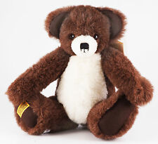 """MERRYTHOUGHT """"70th Anniversary Benjie Bear"""". Limited Edition. Brand New & Boxed."""