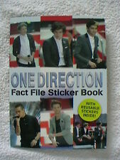 ONE DIRECTION FACT FILE STICKER BOOK
