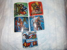 5 Avengers Cartoon   Stickers Party Favors