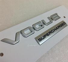 """Nuevo Genuino Range Rover """"Vogue sobrealimentados"""" badge insignia de arranque trasero * * 2013 más reciente"""