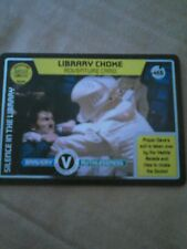 Doctor Who Monster Invasion Ultimate Limited Edition Card LIBRARY CHOKE #465
