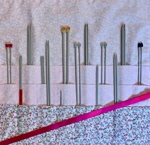 HANDMADE KNITTING NEEDLE CASE/HOLDER/BAG/STORAGE