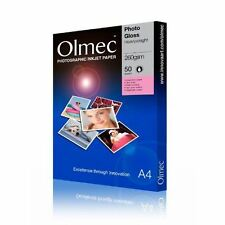 Olmec 250G A4 Double-sided Photo Paper Gloss (50) OLM65A4