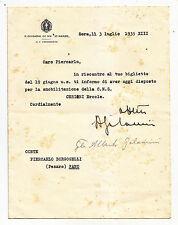 W902-MILITARIA-JESI GEN.ALBERTO GALAMINI AUTOGRAFO