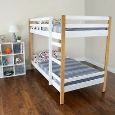 Letto Twin over Twin Bunk Bed, Multiple Colors