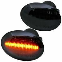 LED SEITENBLINKER schwarz für alle FIAT 500, 500C, 500L | ab 2007- [72405-1]