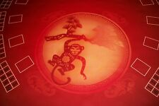 New BAY 101 Casino Pai Gow Poker Batwing Table Layout. Professional Felt. MURAL