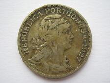 Portugal 1927 50 centavos F