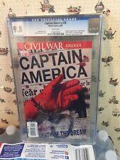 Captain America #25 CGC  9.8.The Death of Captain America..1ST PRINT