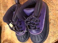 Nike Toddler Baby Girls Shoe Boot Size 8 duck rubber RAIN SNOW Boot PURPLE