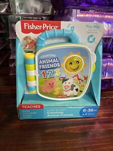 Fisher-Price Laugh & Learn Counting Animal Friends, Brand New!!
