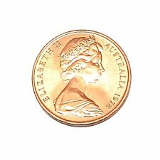 1978 Australian 2 Cent Piece Coin Uncirculated from MINT Roll