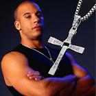 Cross Pendant Necklace Silver Stainless Steel Unisex's Chain Crucifix Men Women