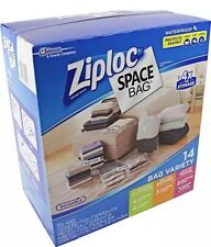 New 14 Ziploc Space Bag Vacuum Seal Storage Bags Waterproof |NO SALES TAX|