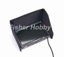 "New 7 inch LCD TFT FPV 1024 x 600 Monitor with 7"" Sunshade Sun Hood Hood Shade"