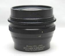"Rank Taylor Hobson f4.5 8-1/4"" Large Format Camera Lens Zerox"