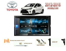 TOYOTA YARIS 2012-2016 CAR STEREO KIT, TOUCHSCREEN DVD USB BLUETOOTH