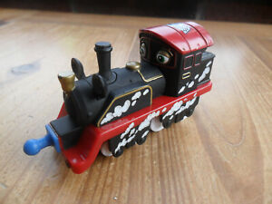 OLD PUFFER PETER WITH DECALS - Chugger Toy Chuggington Die Cast Metal Train