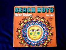 BEACH BOYS~ DARLIN~ HERE TODAY~ VG++~CAPITOL 2068 ~ POP 45