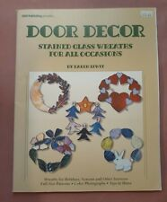 Door Decor: Stained Glass Wreaths for all Occassions - Stained Glass Pattern
