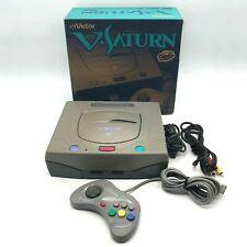 Sega V Saturn Victor RG-JX2 NTSC-J Japan Works Built-in battery already replaced