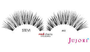 Red Cherry Lashes Natural #43 - Handcrafted 100% Human Hair - Postage Combined