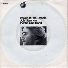 7inch JOHN LENNON + PLASTIC ONO BAND power to the people GERMAN EX+