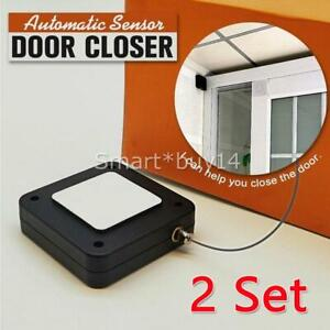 Punch-free Automatic Door Closer Sensor Auto For Home Kitchen All Doors Security