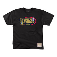 Men's Mitchell & Ness Black NBA Chicago Bulls Finals Pack T-Shirt