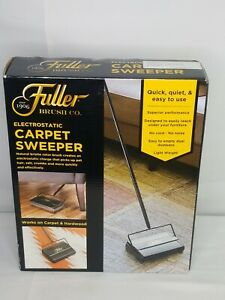 Brand New Fuller Brush Co. Electrostatic Carpet Sweeper # 96389 BLACK NIB