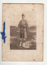 More details for london scottish greetings card, 1913