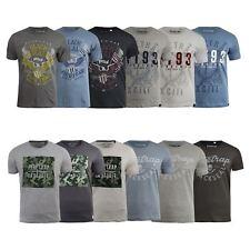 Mens Firetrap T-Shirt Various Graphic Crew Neck Tee Top