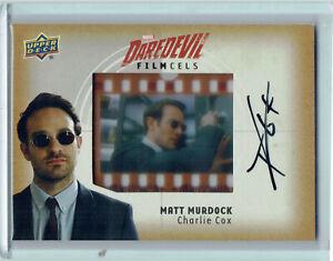 Daredevil Seasons 1 & 2 Film Cel Autograph Card FC-MM Charlie Cox Matt Murdock