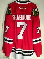 Reebok Premier NHL Jersey Chicago Blackhawks Brent Seabrook Red sz 3X