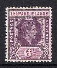 LEEWARD ISLANDS 1938-51 6d WITH BROKEN 'E' FLAW SG 109ab MNH.