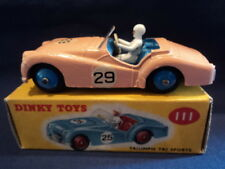 Dinky 1950's Triumph TR2 Sports Competition No:111 N/MINT Superb